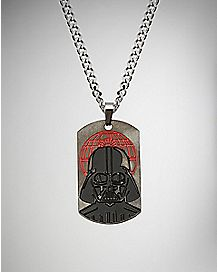 Darth Vader Dog Tag Necklace - Star Wars Rogue One