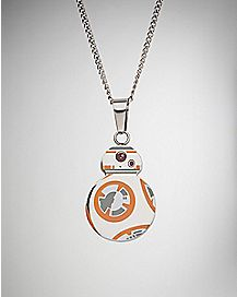 Enamel BB-8 Necklace - Star Wars The Force Awakens