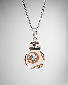 Enamel BB-8 Necklace - Star Wars The Force Awakens