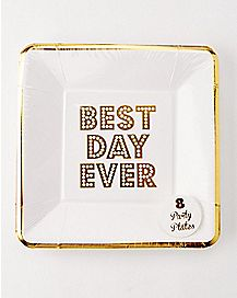 Best Day Ever Paper Plates