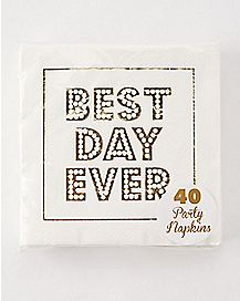 Best Day Ever Napkins