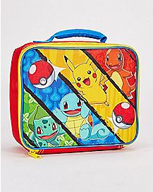 Pokemon Starters Lunch Box
