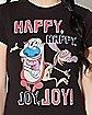 Happy Happy Joy Joy Ren and Stimpy T Shirt - Nickelodeon