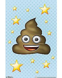 Poop Emoji Poster