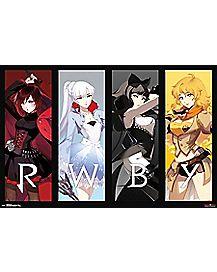 Girls RWBY Poster