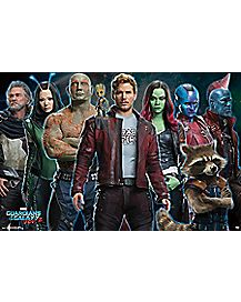 Guardians of the Galaxy Vol. 2 Poster - Marvel Comics