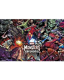 Monsters Unleashed Poster - Marvel Comics