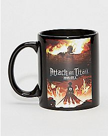 Heat Changing Attack on Titan Mug - 16 oz