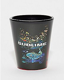 Koi Fish Sublime Shot Glass - 2 oz.