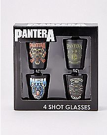 Pantera Shot Glasses - 4 Pack