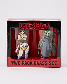 Cowboy Bebop Pint Glasses 16 oz - 2 Pack