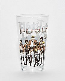 Attack on Titan Pint Glass - 16 oz