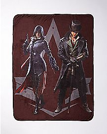 Evie and Jacob Fleece Blanket - Assassin's Creed