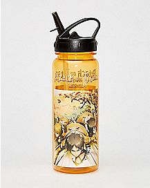 Charge Gold Attack On Titan Water Bottle - 16 oz