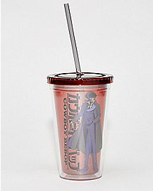 Cowboy Bebop Cup With Straw - 16 oz