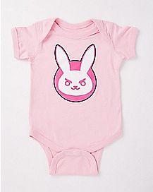 Nerf This Bunny Baby Bodysuit