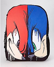 Face Off Sonic and Knuckles Backpack - Sonic the Hedgehog