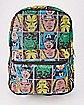 Mesh Avengers Backpack - Marvel Comics
