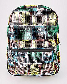 Mesh Avengers Backpack - Marvel Comics