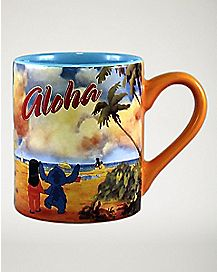 Aloha Lilo and Stitch Mug 14 oz. - Disney