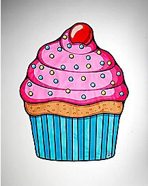 Cupcake Beach Towel