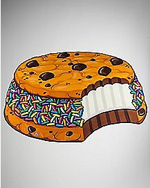 Ice Cream Sandwich Beach Towel