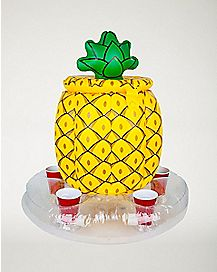 Floating Pineapple Beverage Cooler