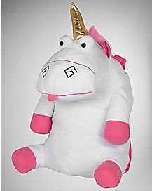 Fluffy Unicorn Toy Despicable Me Backpack