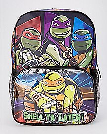 Shell Ya Later TMNT Backpack - Nickelodeon