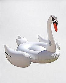 Swan Pool Float - 78.5 inch