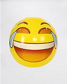 Laugh Face Emoji Beach Ball - 56 inch