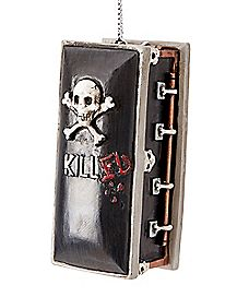 Casket Christmas Ornament