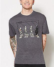 Stormtrooper and Darth Vader T Shirt - Star Wars