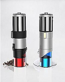 Lightsaber Salt and Pepper Mills - Star Wars