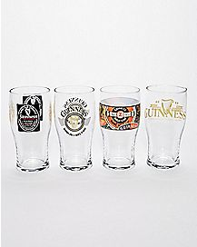 Guinness Beer Glasses 4 Pack - 20 Oz.