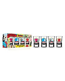 Don Clemente Loteria Shot Glass 4 Pack - 1.5 oz.