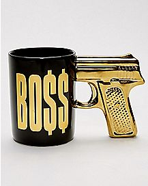 Gun Handle Boss Coffee Mug - 20 oz.