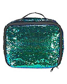 Black and Green Sequin Lunchbox