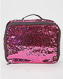 Pink and Silver Sequin Lunchbox