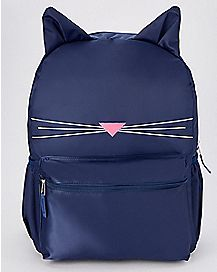 Blue Cat Backpack