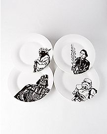 Star Wars Dinner Plates 4 Pack