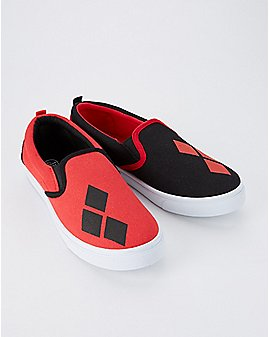 Harley Quinn Slip On Sneakers - DC Comics