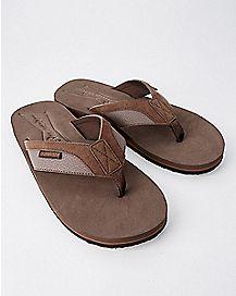 Budweiser Flip Flops