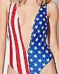 American Flag Monokini Swimsuit