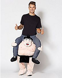 Adult Piggyback Sumo Costume