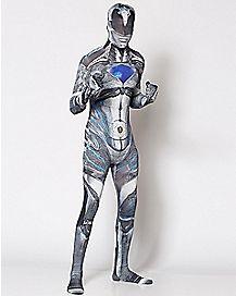 Adult Black Ranger Skin Suit Costume - Power Rangers