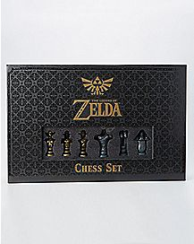 The Legend of Zelda Chess Set