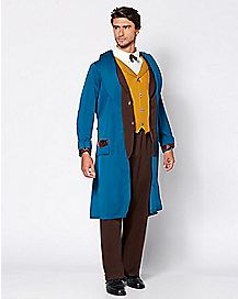 Adult Newt Scamander Costume Deluxe - Fantastic Beasts and Where to Find Them