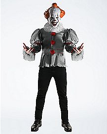 Adult Pennywise Costume Deluxe - IT