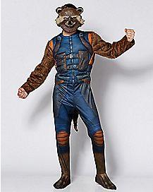 Adult Rocket Raccoon Costume - Guardians of the Galaxy